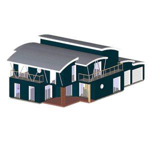 maison bois novateur