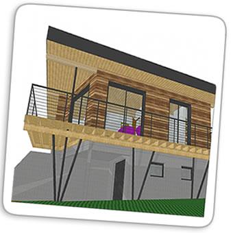 avant projet maison structure bois